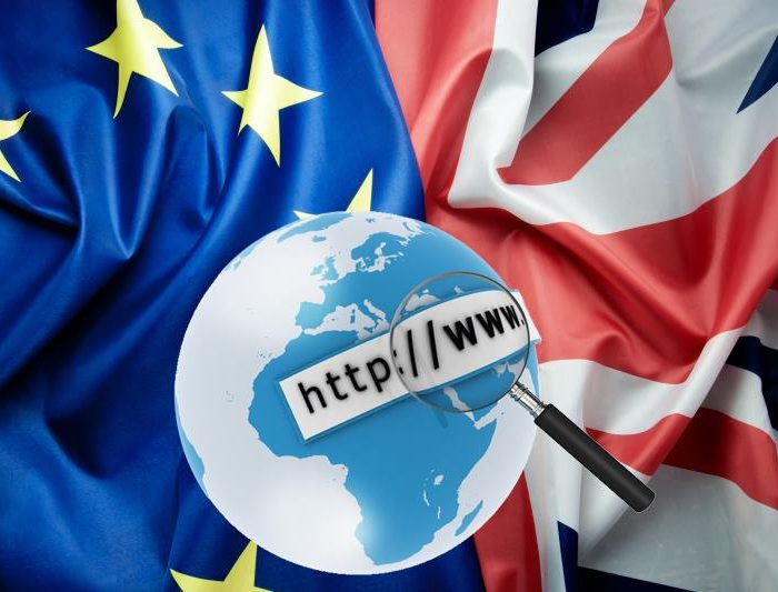 The Web Feels the First Effects of Brexit…